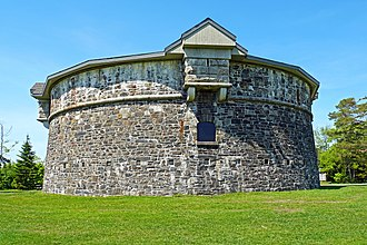 Prince of Wales Tower - Oldest Martello Tower in North America