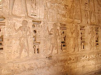 Amun-her-khepeshef (20th dynasty) - Amun-her-khepsef and other sons of Ramesses III