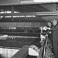 Prins Bernhard opende golfstromingslaboratorium te Wageningen, de Prins tijdens , Bestanddeelnr 917-8661.jpg
