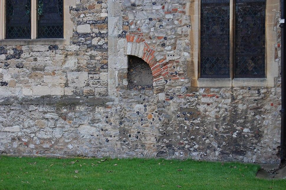 Prittlewell church door