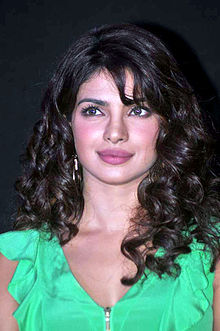 A photograph of Priyanka Chopra looking away from the camera