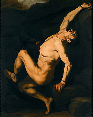 Cabal of Naples - Jusepe de Ribera, Prometheus, c. 1630