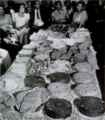 Prophet Jones feast table Nov 1944.png