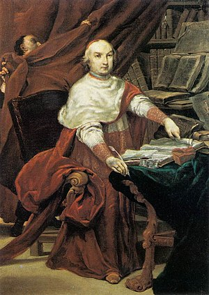 Pope Benedict XIV - Cardinal Lambertini c. 1740
