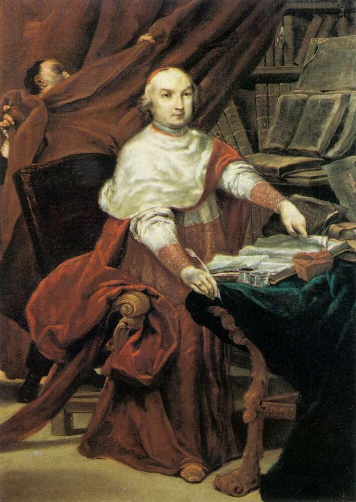 Prospero Lambertini by Giuseppe Maria Crespi