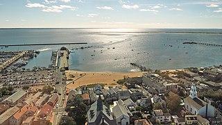Provincetown Harbor Harbor in Provincetown, Massachusetts, USA