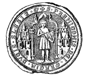 Przemko of Ścinawa - Przemko's seal, dated to 1284.
