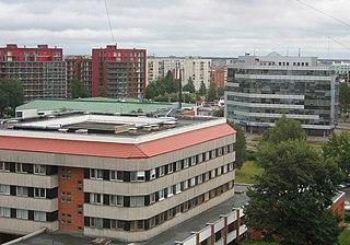 Purvciems Neighborhood of Riga in Latvia