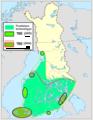 Puutiaisen ja TBE-viruksen esiintyminen Suomessa 2009.png