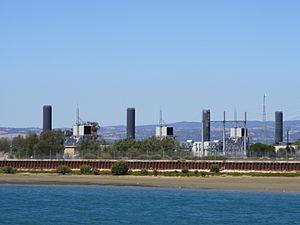 Torrens Island - Image: Quarantine Power Station Torrens island Adelaide