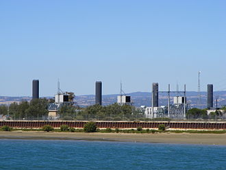 Torrens Island - Image: Quarantine Power Station Torrens island Adelaide