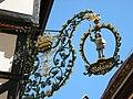 Quedlinburg - Wirtshausschild am Marktplatz.jpg
