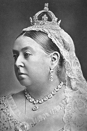 Small Diamond Crown of Queen Victoria - Queen Victoria, 1887