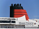 Queen Victoria Funnel Tallinn 9 June 2013.JPG