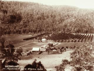 Mount Sylvia, Queensland Suburb of Lockyer Valley Region, Queensland, Australia
