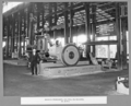 Queensland State Archives 3664 Rocklea workshops end milling machine and Mr McKew Brisbane 8 May 1936.png