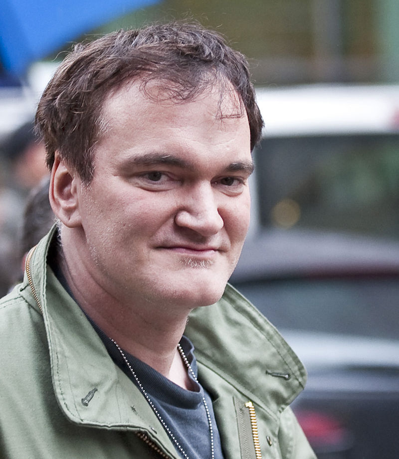 director Quentin Tarantino in 2009, the director/writer of Django Unchained