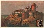 Rössel, Ostpreußen - Burg und Pfarrkirche (Zeno Ansichtskarten).jpg