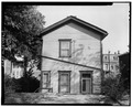 REAR, LOOKING EAST - White House, 2723 Park Avenue, Cincinnati, Hamilton County, OH HABS OHIO,31-CINT,63-5.tif