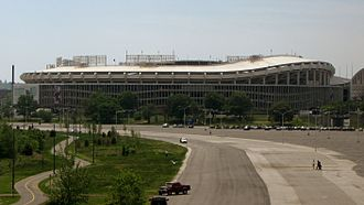 Multi-purpose stadium - RFK Stadium, a multipurpose stadium in Washington, D.C.