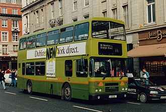 Dublin Bus - Alexander bodied Leyland Olympian in March 1994