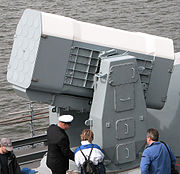 A RAM launcher of the German Navy