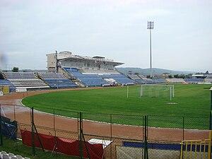 CS Pandurii Târgu Jiu - Stadionul Tudor Vladimirescu before demolition