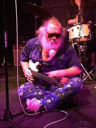 R. Stevie Moore - Moore performing in New York, 2013