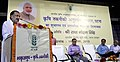 Radha Mohan Singh addressing at the inauguration of the Agricultural Technology Applications Research Institute and laying the foundation stone of its administrative building, in Patna on August 19, 2015.jpg