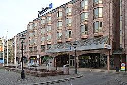 Hotel Radison Blue Koln Freie Parkplatze In Der Nahe