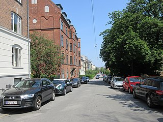 street in Copenhagen Municipality, Denmark