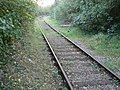 Railway line leading out of the BMW MINI body plant, Swindon - geograph.org.uk - 272725.jpg