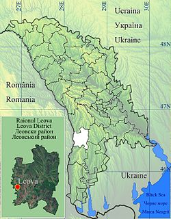Location of Leova