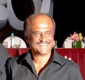Rajinikanth - Rajinikanth at the audio release of Enthiran (2010)
