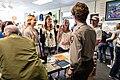 Ranger Joel swears in Junior Ranger Eclipse Explorers (36899925342) (2).jpg