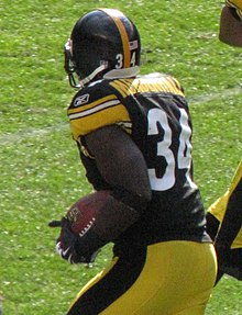 9d875d177 Rashard Mendenhall - Mendenhall with the Pittsburgh Steelers in 2009