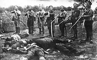 period of political repression and mass killings after the beginning of the Russian Civil War in 1918 carried out by the White Army
