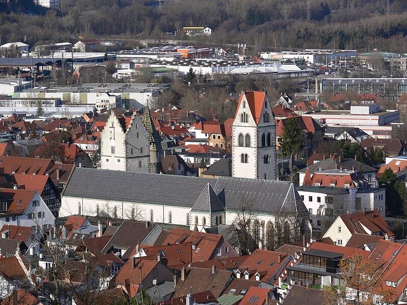 File:Ravensburg Liebfrauenkirche von der Veitsburg.jpg