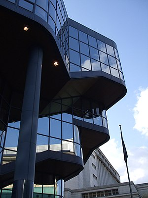 Nottingham Royal Concert Hall - Exterior - closeup of the Royal Concert Hall, Nottingham