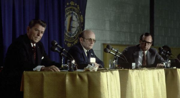 Reagan-Bush Nashua 1980 debate