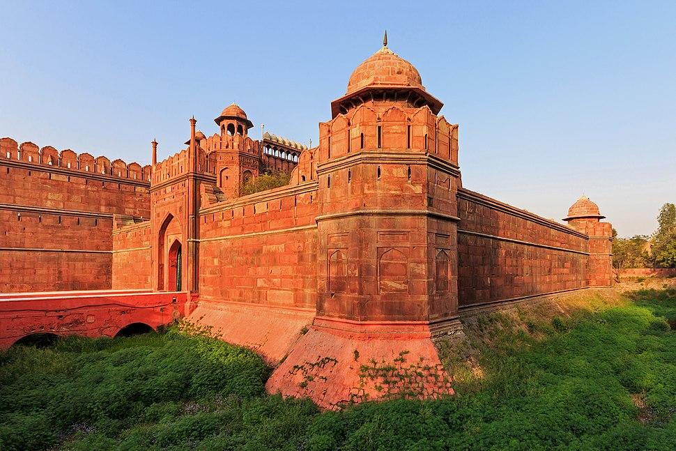 Red Fort in Delhi 03-2016 img1