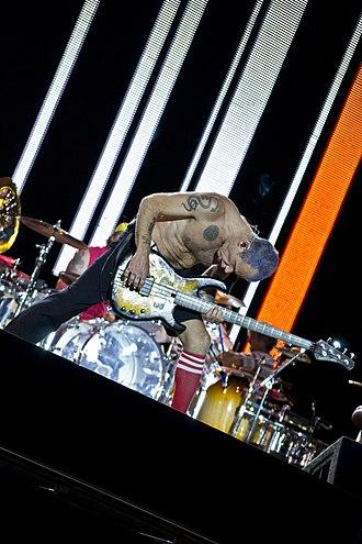 Flea (musician) - Flea in 2012