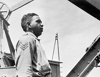 Reg Saunders Australian soldier