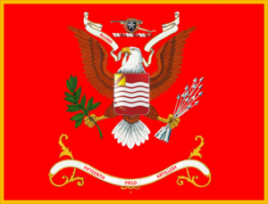 15th Field Artillery Regiment (United States) - Image: Regimental Colors