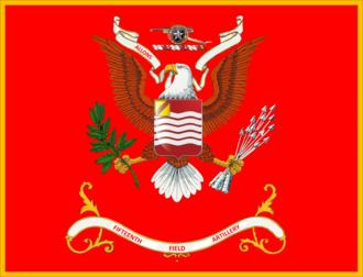 15th Field Artillery Regiment (United States) - Image: Regimental Colors
