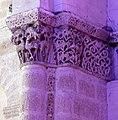 Reich geschmückt, die romanische Apsis (12. Jahrhundert) der Kirche Saint-Vivien-de-Medoc. 19.jpg