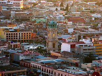 Club de Cuervos - Club de Cuervos is filmed in Pachuca, Hidalgo (Pachuca's historic center pictured)