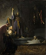 Rembrandt Harmensz. van Rijn - The Raising of Lazarus - Google Art Project.jpg