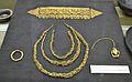 Reproducció de les peces d'or del tresor ibèric de Xàbia, Museu Soler Blasco.JPG