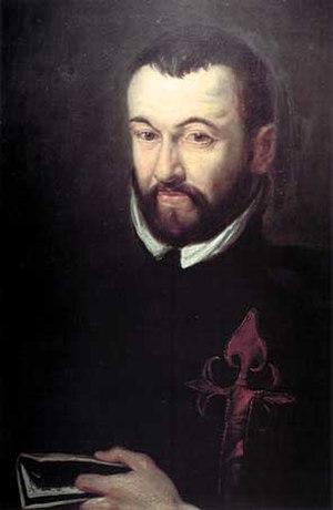 Benito Arias Montano - Benito Arias Montano portrait at Museum Plantin-Moretus in Antwerp